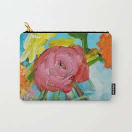 Fearless Flowers Carry-All Pouch