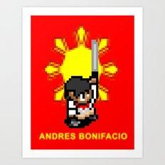 16-bit Andres Bonifacio Art Print