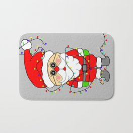 Silly Santa Bath Mat
