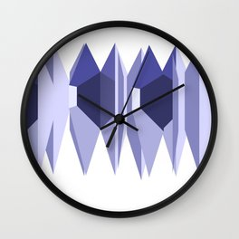 Wave Forest Wall Clock