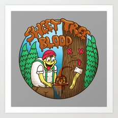 Sweet Tree Blood Art Print