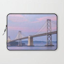 Bay Bridge at Dusk Laptop Sleeve