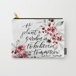 Believe in Tomorrow Carry-All Pouch