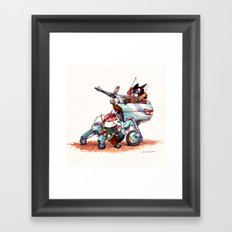 The Off-Road Scout Buggy Framed Art Print