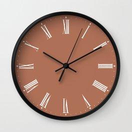 Boho Roman numerals Wall Clock // 04 Wall Clock