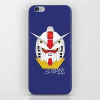 gundam iPhone & iPod Skins featuring Gundam Material by IOSEF