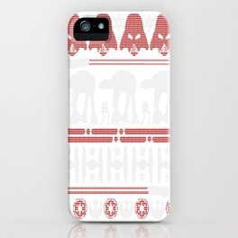 Christmas on Hoth iPhone Case