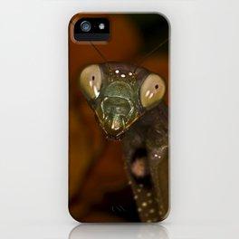 Mantoptera iPhone Case