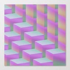 Fade Cubes II Canvas Print
