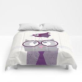 Cat&Bird Comforters