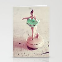 ballerina Stationery Cards featuring ballerina by elle moss