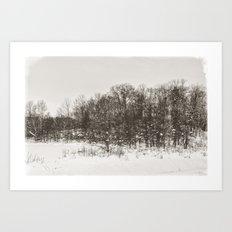 Winter Landscape II Art Print