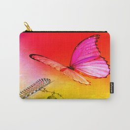 The butterfly, the caterpillar and the chrysalis Carry-All Pouch
