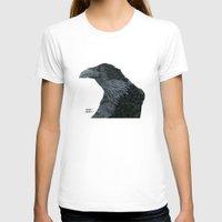 lara croft T-shirts featuring Raven Croft 2 by Jennifer Lambein