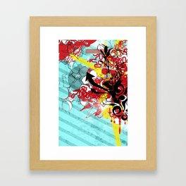 Kolor Kaos Framed Art Print