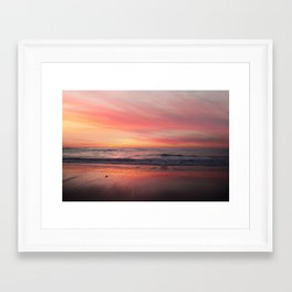 Blushing Sky Framed Art Print