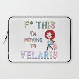 Move to Velars Laptop Sleeve