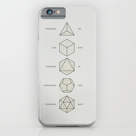 The Platonic Solids iPhone & iPod Case