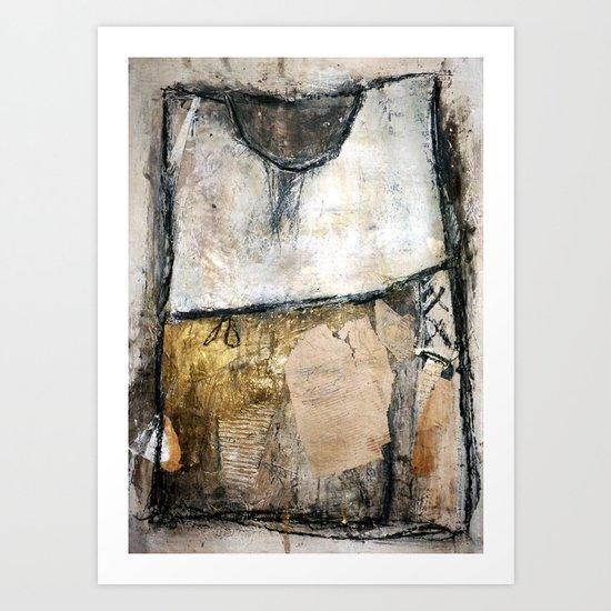 one dress Art Print
