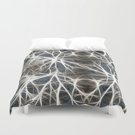 Neurons Cell Healthy Duvet Cover