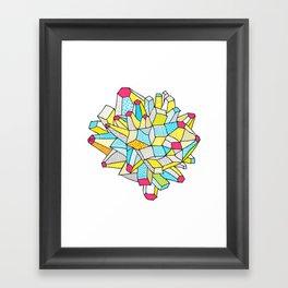 Gem and Mineral Dream Framed Art Print