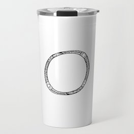 Monogram letter O Travel Mug