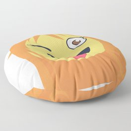 Nami Emoji Design Floor Pillow