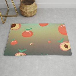 Apricot simple Design smooth Bachground Rug