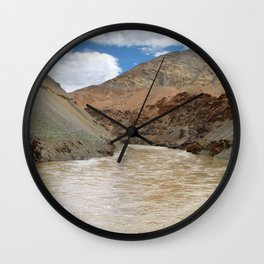Rafting on the Zanskar River Wall Clock