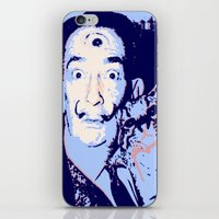 dali iPhone & iPod Skins featuring Dali  by old opps