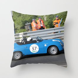German Sports Car Le Mans Classic Throw Pillow