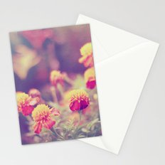 Retro Vintage style - flowers Stationery Cards