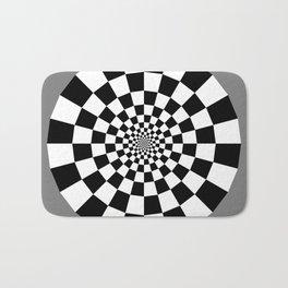 Checker Tunnel Bath Mat