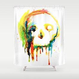 Happy/Grim Shower Curtain