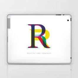 "Serif ""R"" Laptop & iPad Skin"