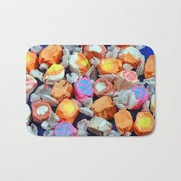 Colorful taffy candy Bath Mat