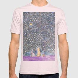 Three Friends Under the Stars T-shirt