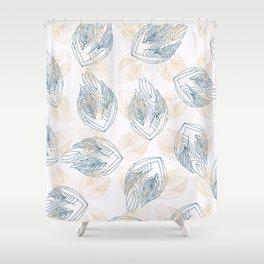 Flowa antique Shower Curtain
