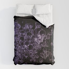 THE DEATH OF A SKULL Duvet Cover