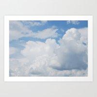 Cloudscape VIII Art Print