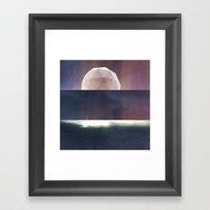 Moon Machine Framed Art Print