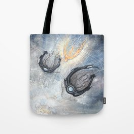 Starships Derelict Space Tote Bag