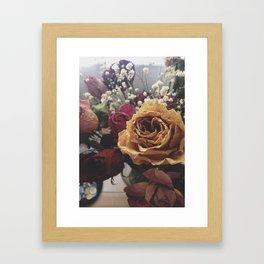 Wilted Flowers Framed Art Print