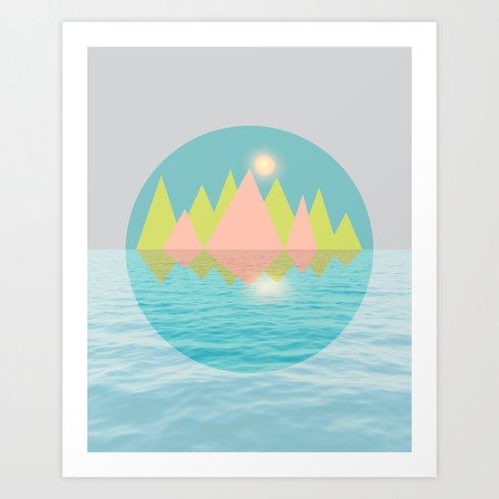 Spring Landscape IV Art Print