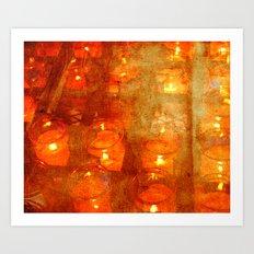 So Many Candles Art Print