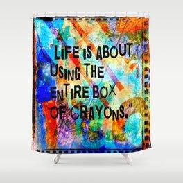 Crayon Box 2 Shower Curtain
