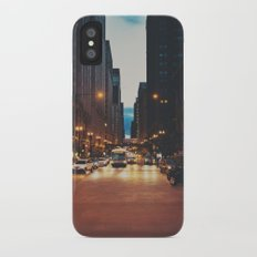 the streets of Chicago ... Slim Case iPhone X
