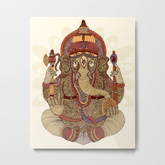 Ganesha: Lord of Success Metal Print