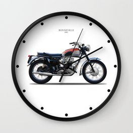 Bonneville T120 1962 Wall Clock