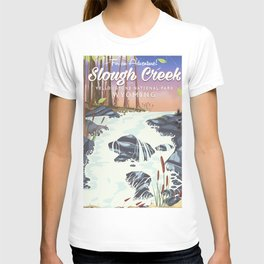 Slough Creek Yellowstone national park T-shirt